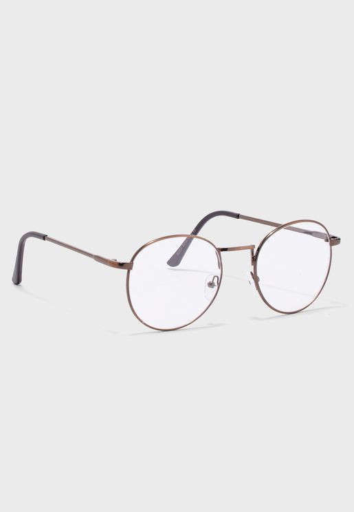 Clear Lens Optical Oversized Glasses