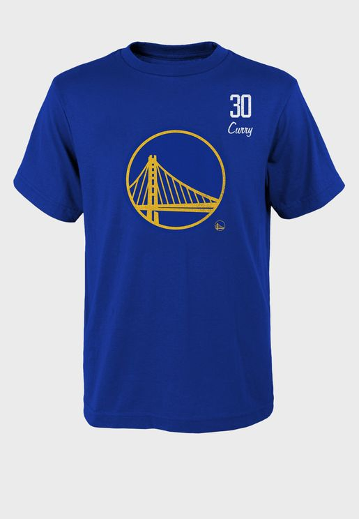 Stephen Curry Golden State Warriors Distressed Player T-Shirt