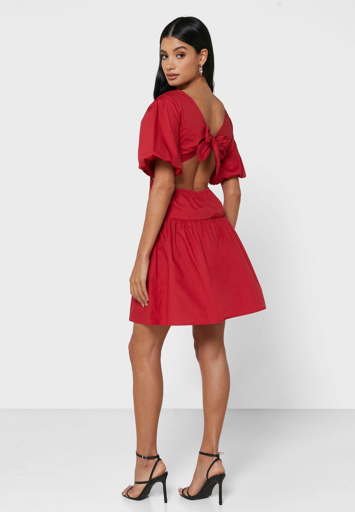 Side Cut Out Dress
