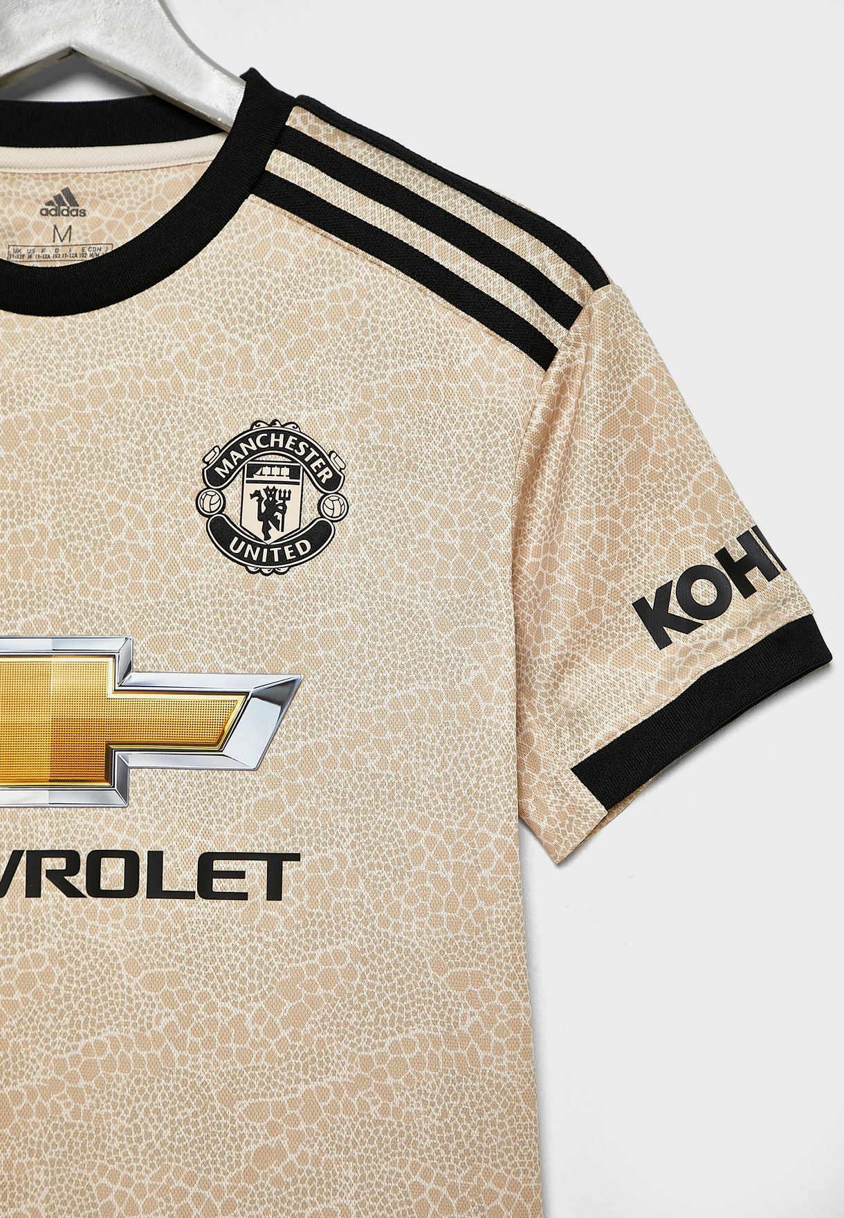 Youth Manchester United 19/20 Away Jersey