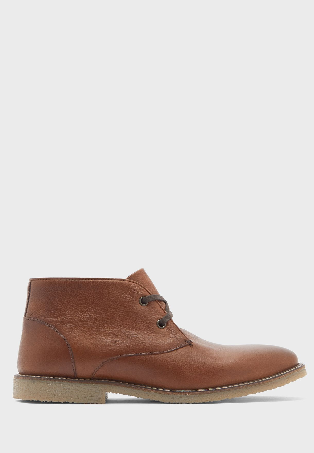Genuine Leather Chukka Boots