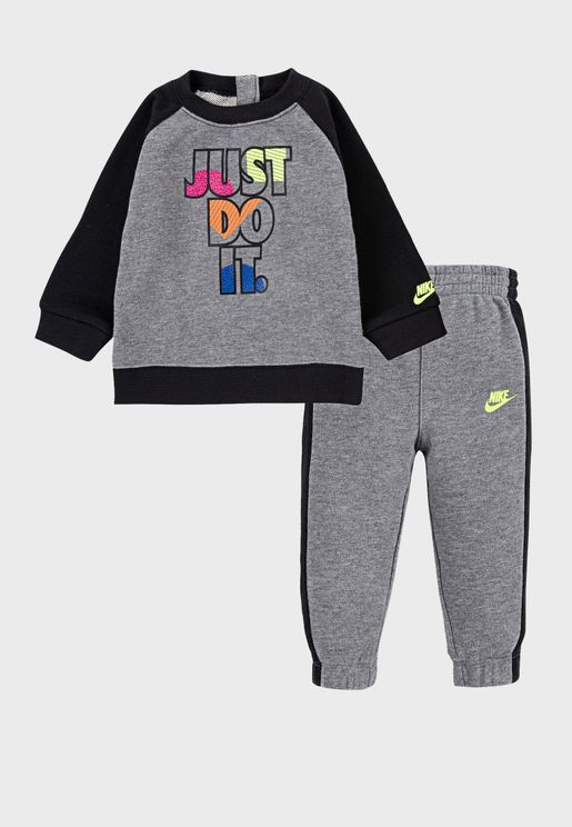 Infant Just Do It Fleece Tracksuit
