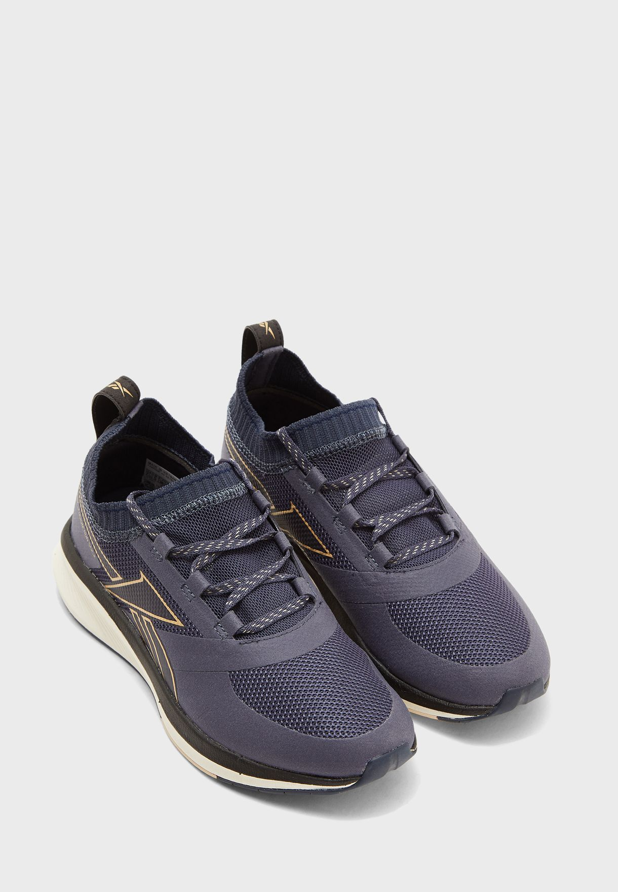 Buy Reebok Navy Fusium Run 20 Sock For Women In Mena Worldwide Eh0399