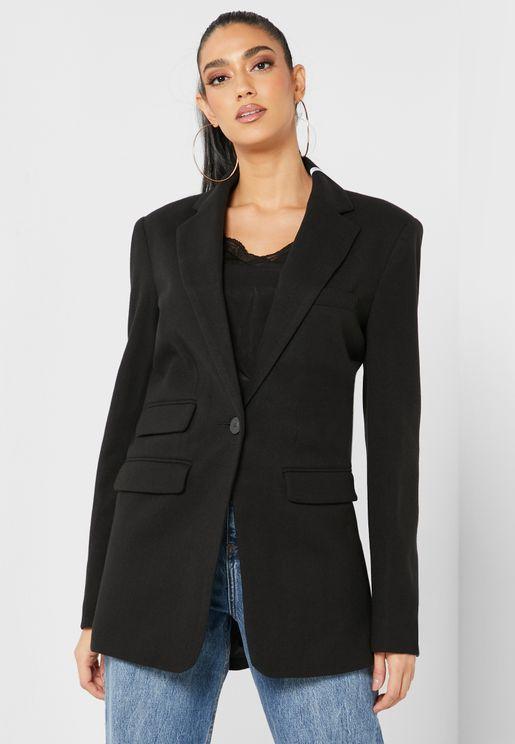 Boyfriend Blazer Coat