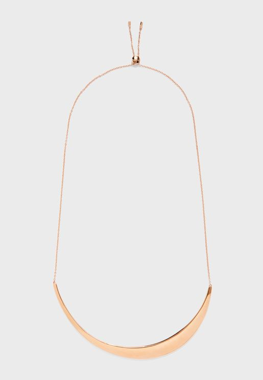 Groovy Rosegold Choker Necklace