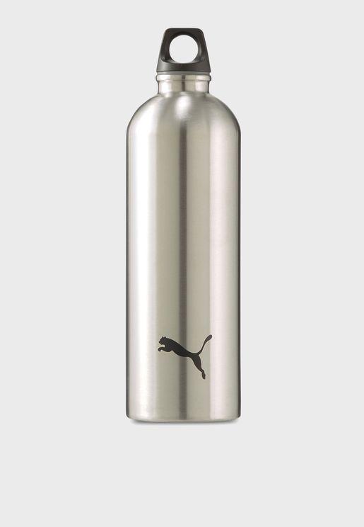 قارورة مياه معدنية بشعار الماركة