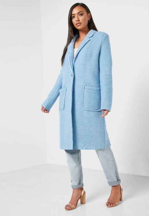 Lightweight Pocket Front Coat