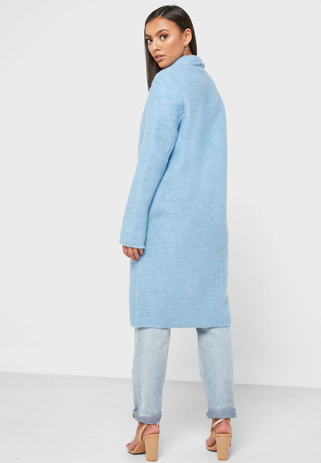 معطف طويل خفيف الوزن