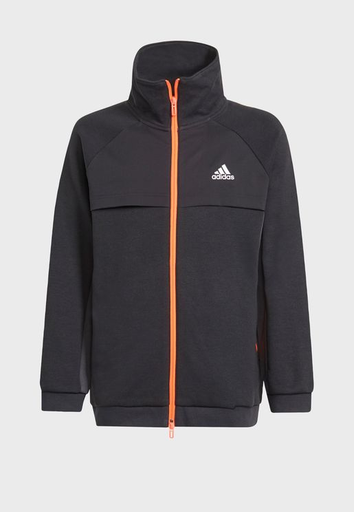 Youth Xfg Cover Up Track Jacket