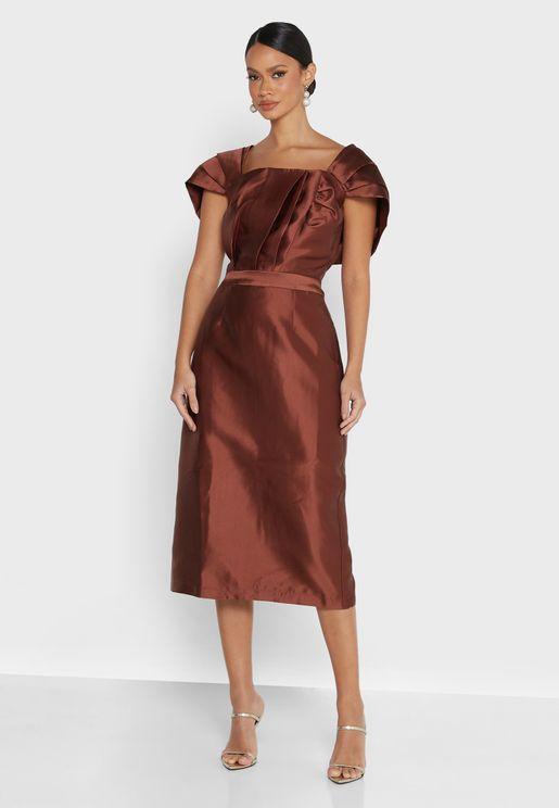 Catharina Midi Pencil Dress