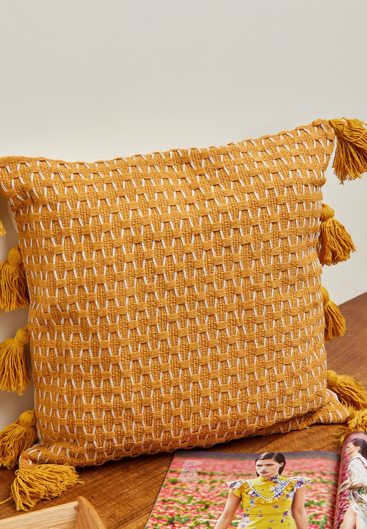 Pom Pom Speciality Cushion