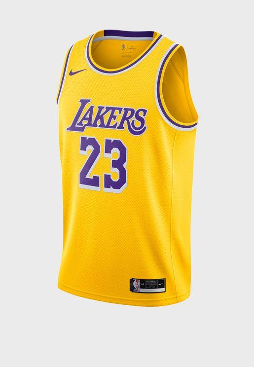 LeBron James Los Angeles Lakers Swingman Jersey
