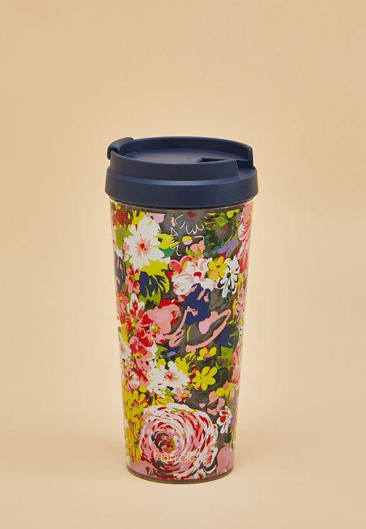 Floral Hot Stuff Thermal Mug