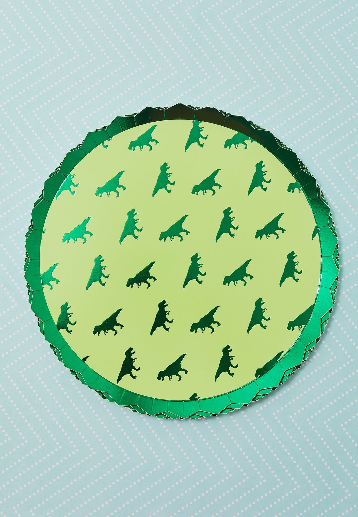 Dinosaur Party Plates 8 Pack