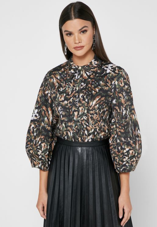 Evrett Printed Top
