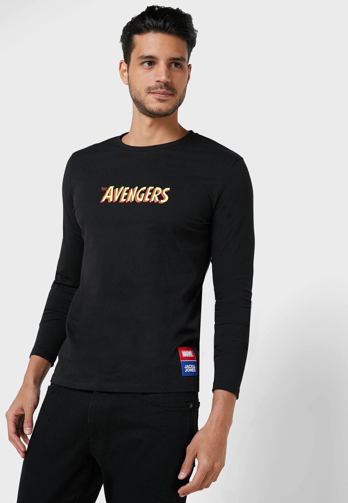 Avengers Crew Neck T-Shirt
