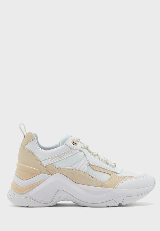 حذاء سنيكرز بنعل ويدج