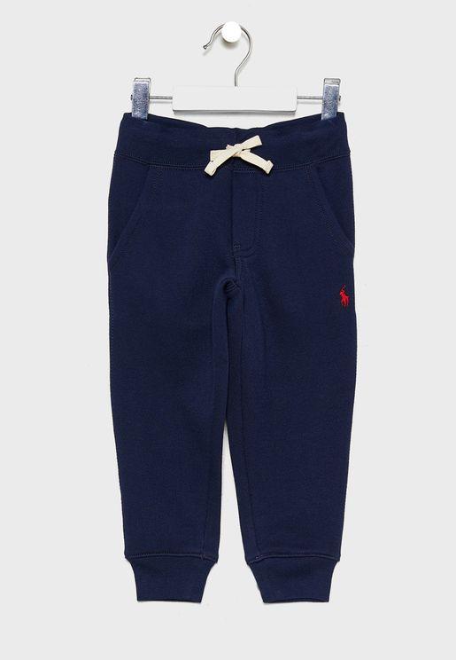 Kids Tie Waist Sweatpants