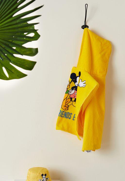 Kids Disney Hooded Towel