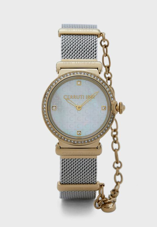 Corniglia Mesh Strap Watch