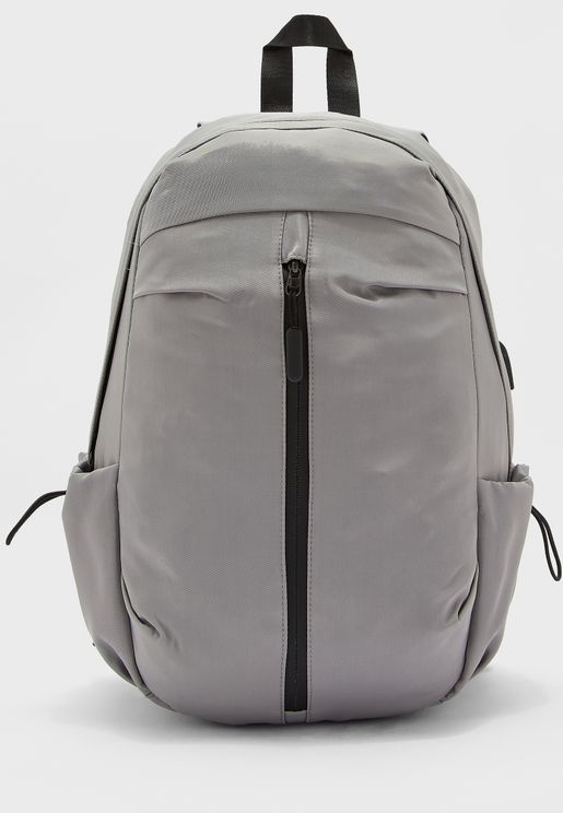 Backpack With Front Zip