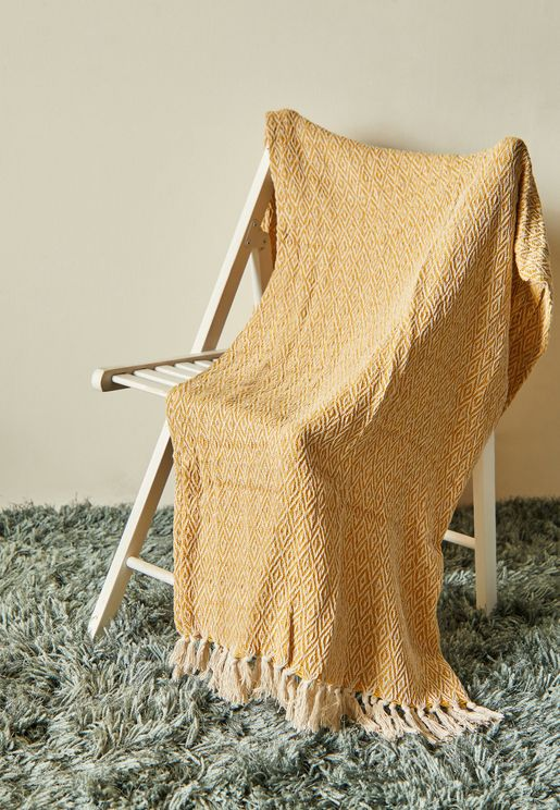 Scandi Boho Blanket Throw