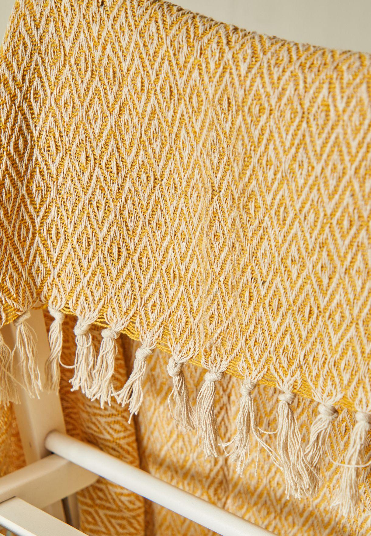 بطانية بوهو بشراشيب