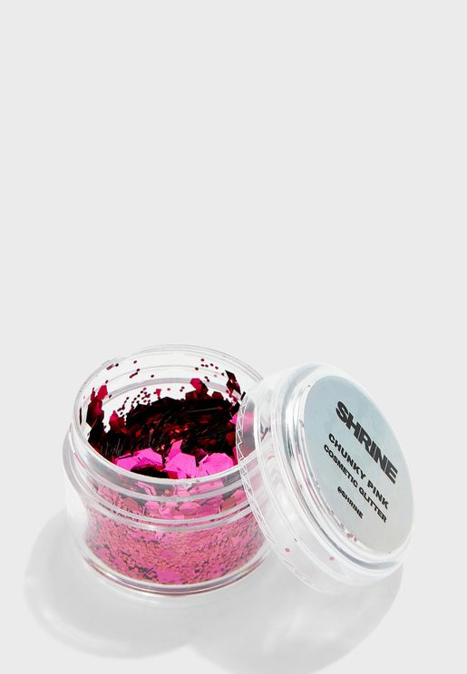 Chunky Pink Glitter