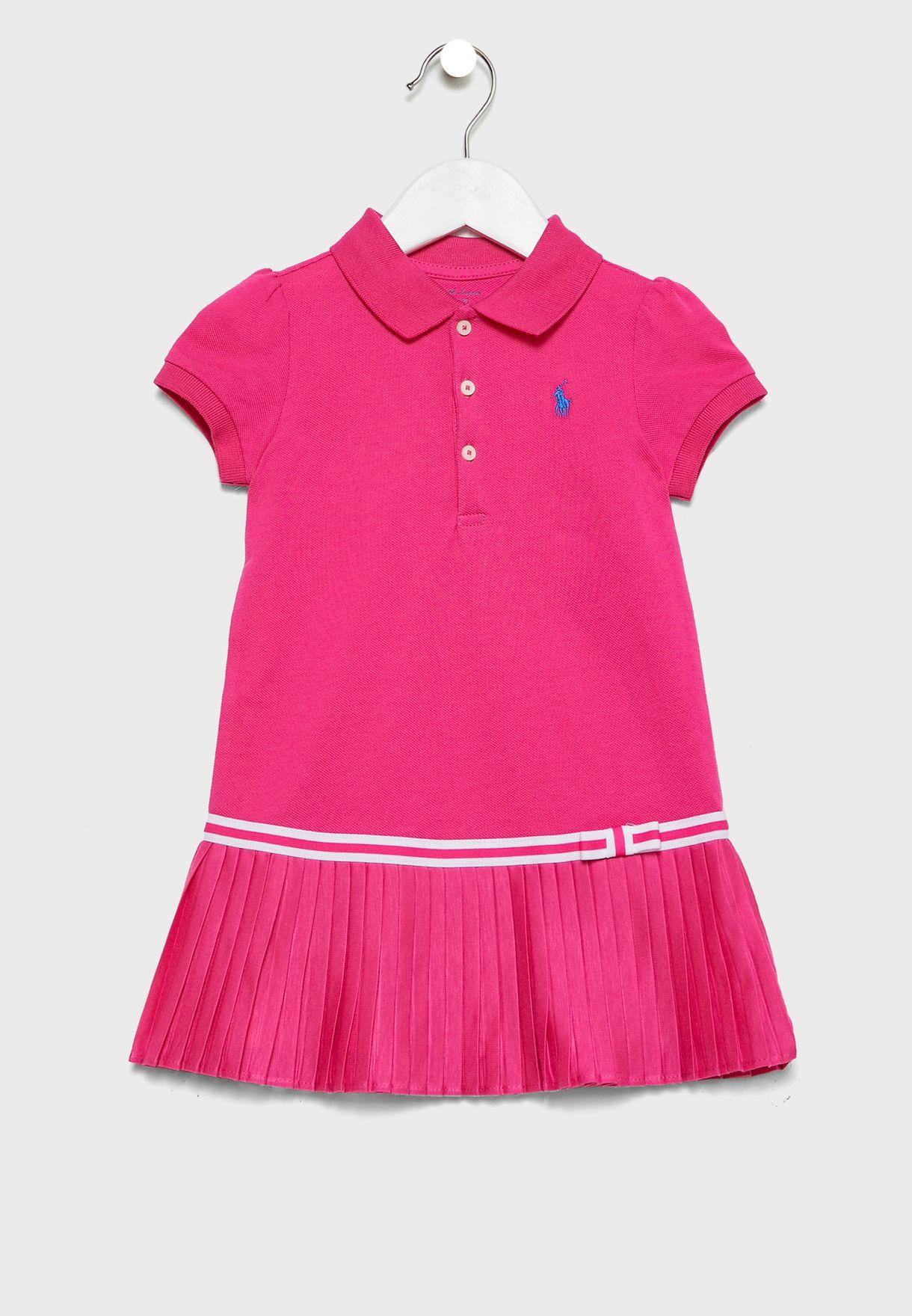 فستان بياقة كلاسيكية للبيبي