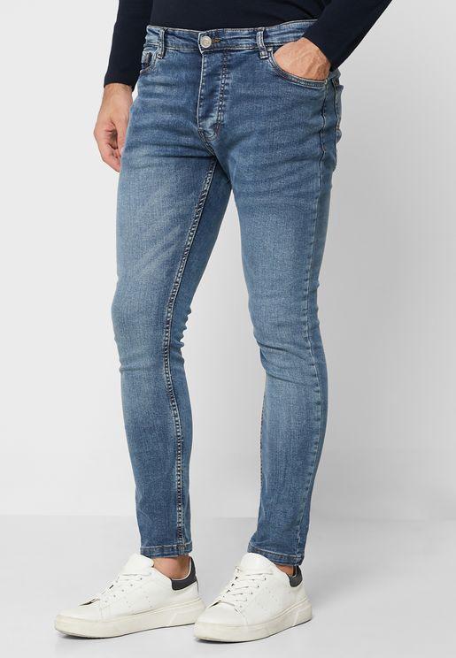 Denim Skinny Fit Jeans