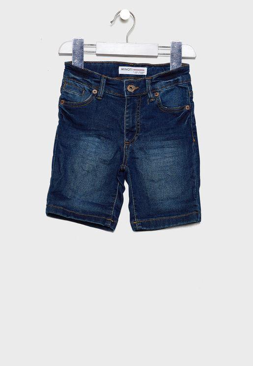 Little Roll Up Shorts