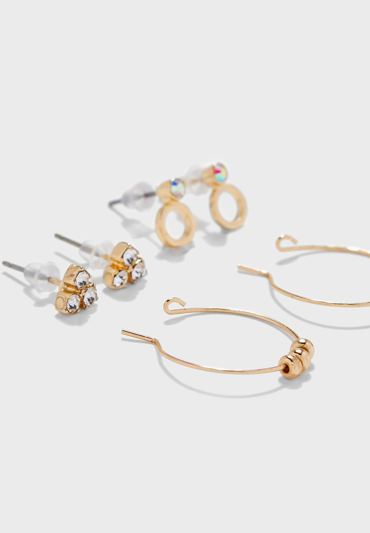 Gagarra Drop Earrings Set