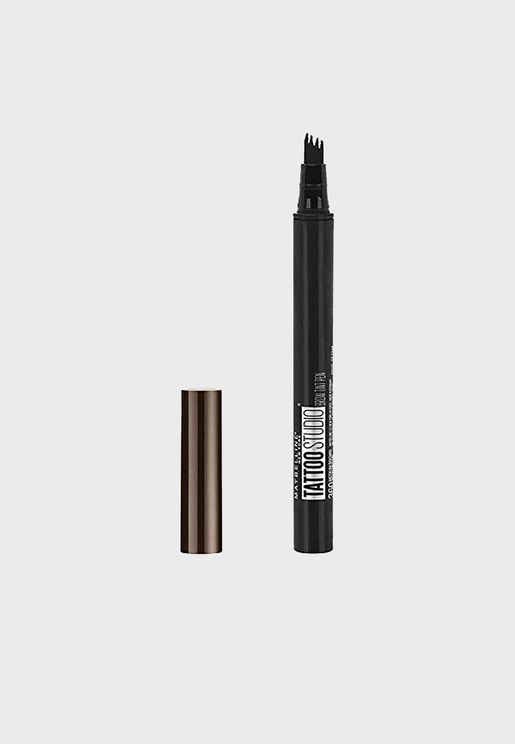 Tattoo Eyebrow Pen - Medium Brown
