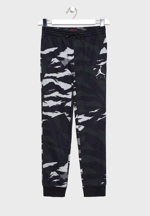 Youth Jordan Jumpman Fleece Camo Sweatpants