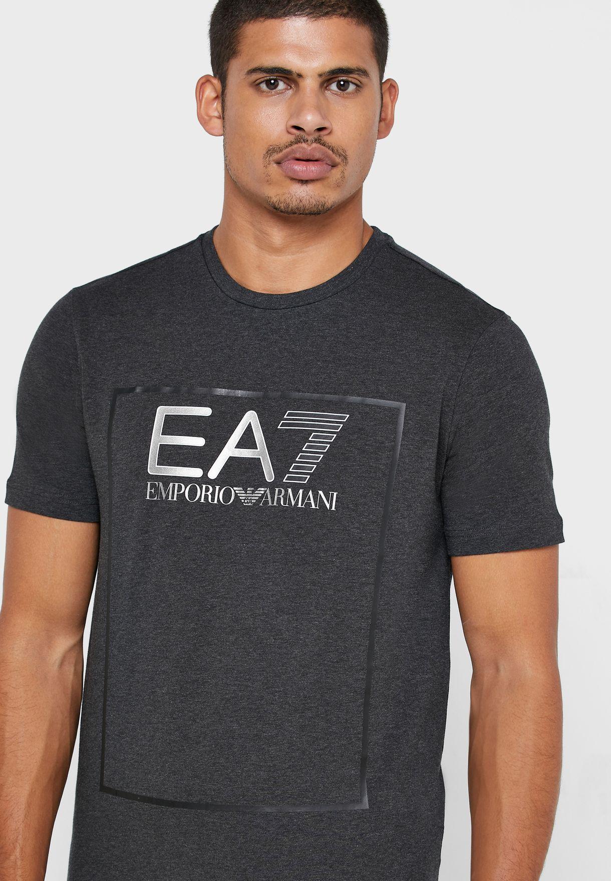 Logo Series Squared Crew Neck T-Shirt