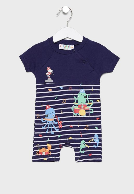 Infant Under The Sea Romper