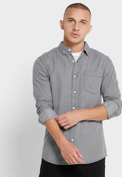 Denim LS Shirt