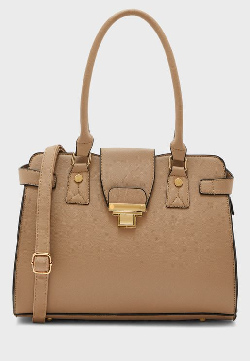 Mast Harbour Push Lock Detail Crossbody
