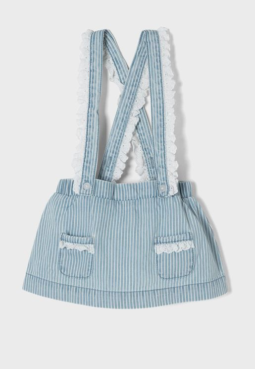 Infant Striped Skirt