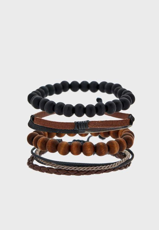 4 Pack Toidien Mixed Bracelets