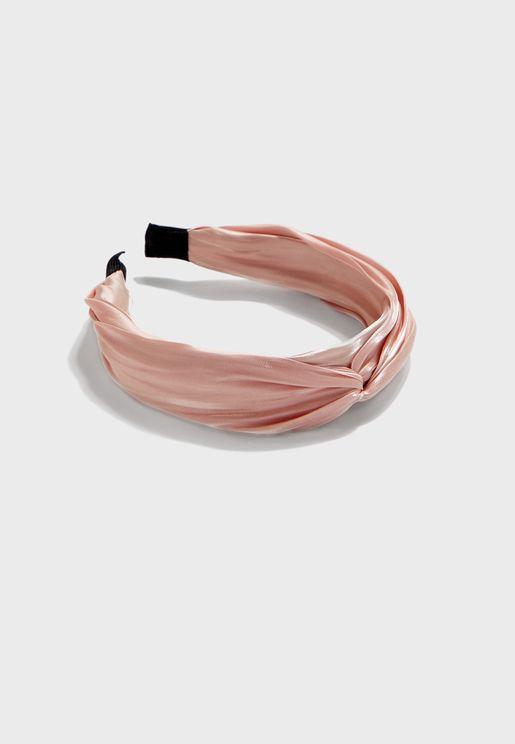 Fabric Knot Nairband