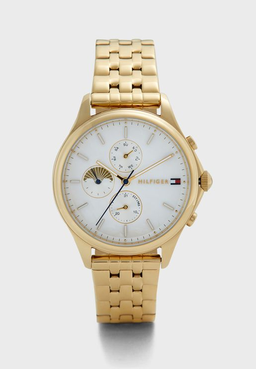 Whitney Ionic Steel Strap Watch