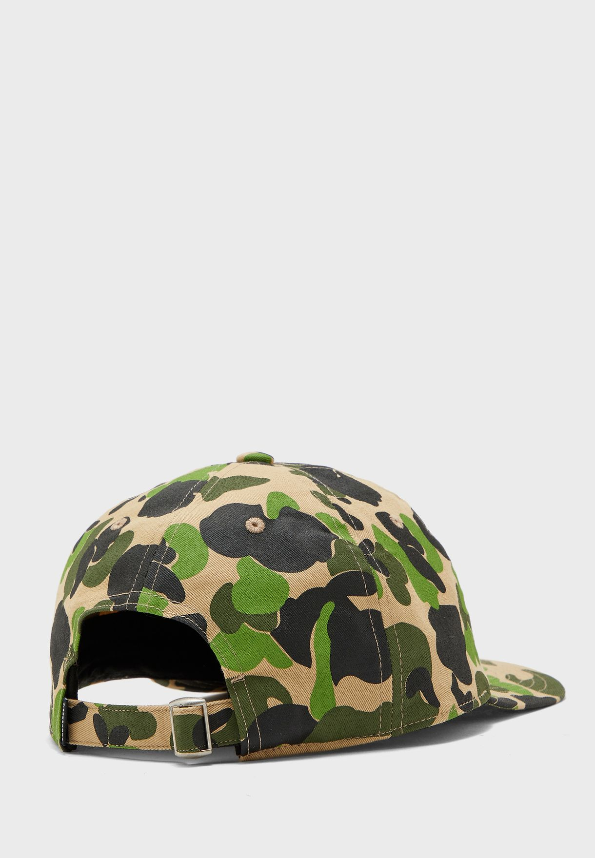 Evergreen Print Baseball Cap
