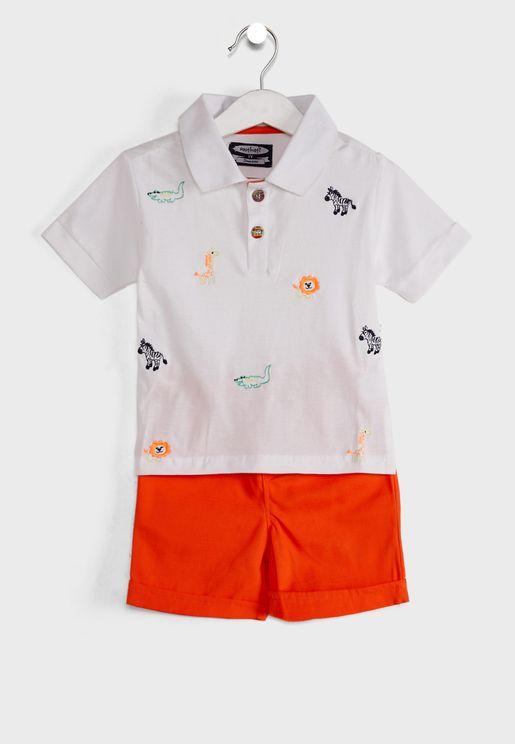 T-Shirt & Shorts Set