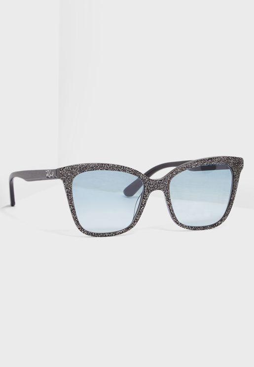 نظارة شمسية واي فيرر مزينة بذرات براقة