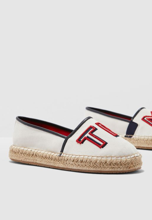 Colorful Tommy Flat Espadrille