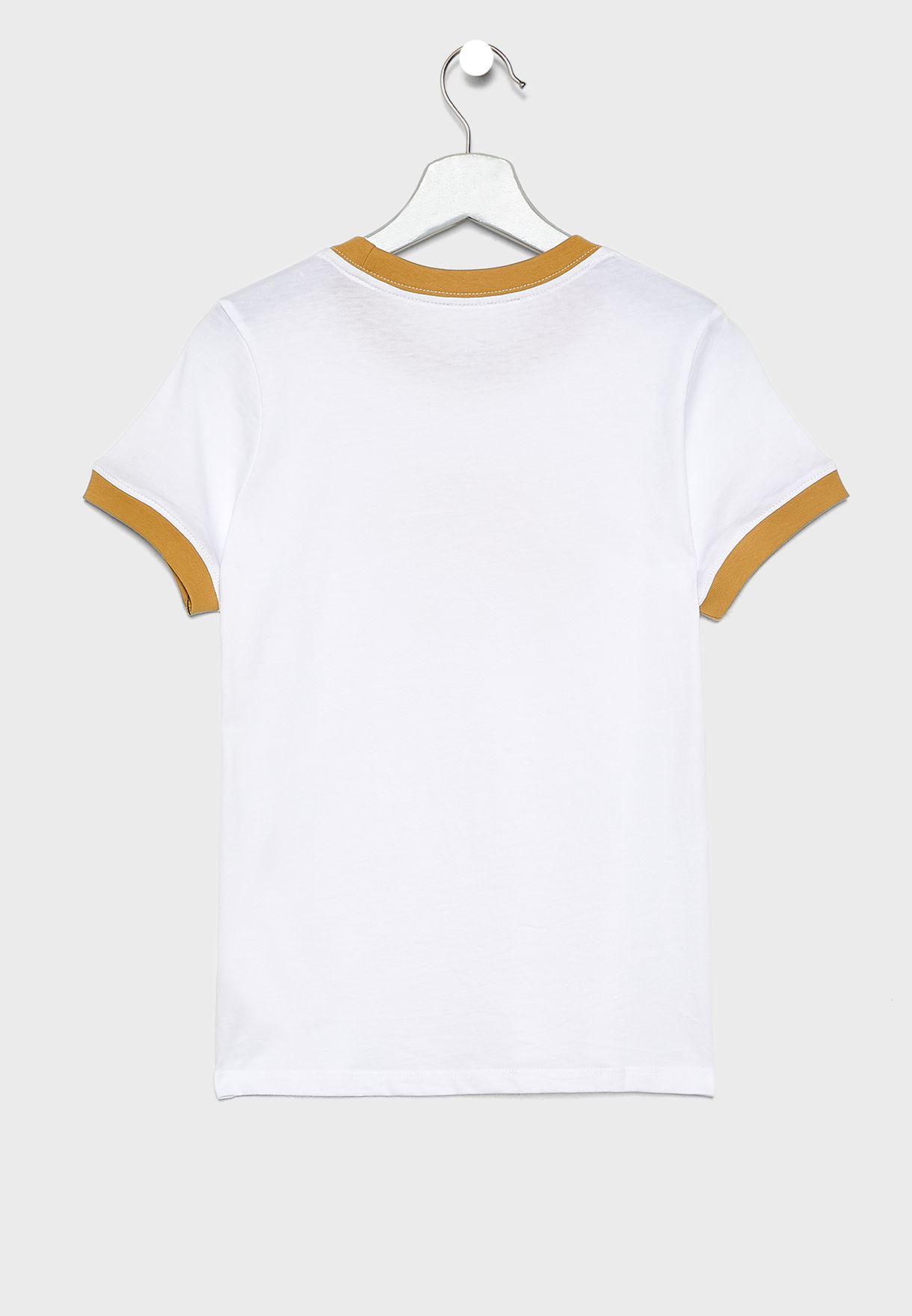 Youth NSW Air Logo Ringer T-Shirt