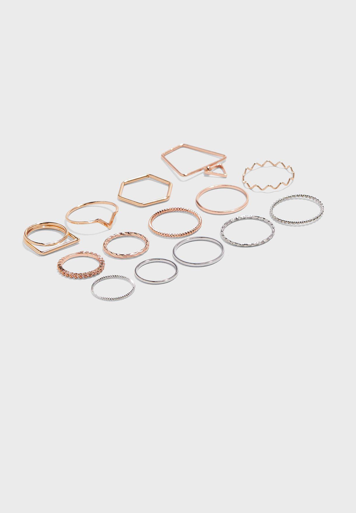 Regalia Pack Of Rings
