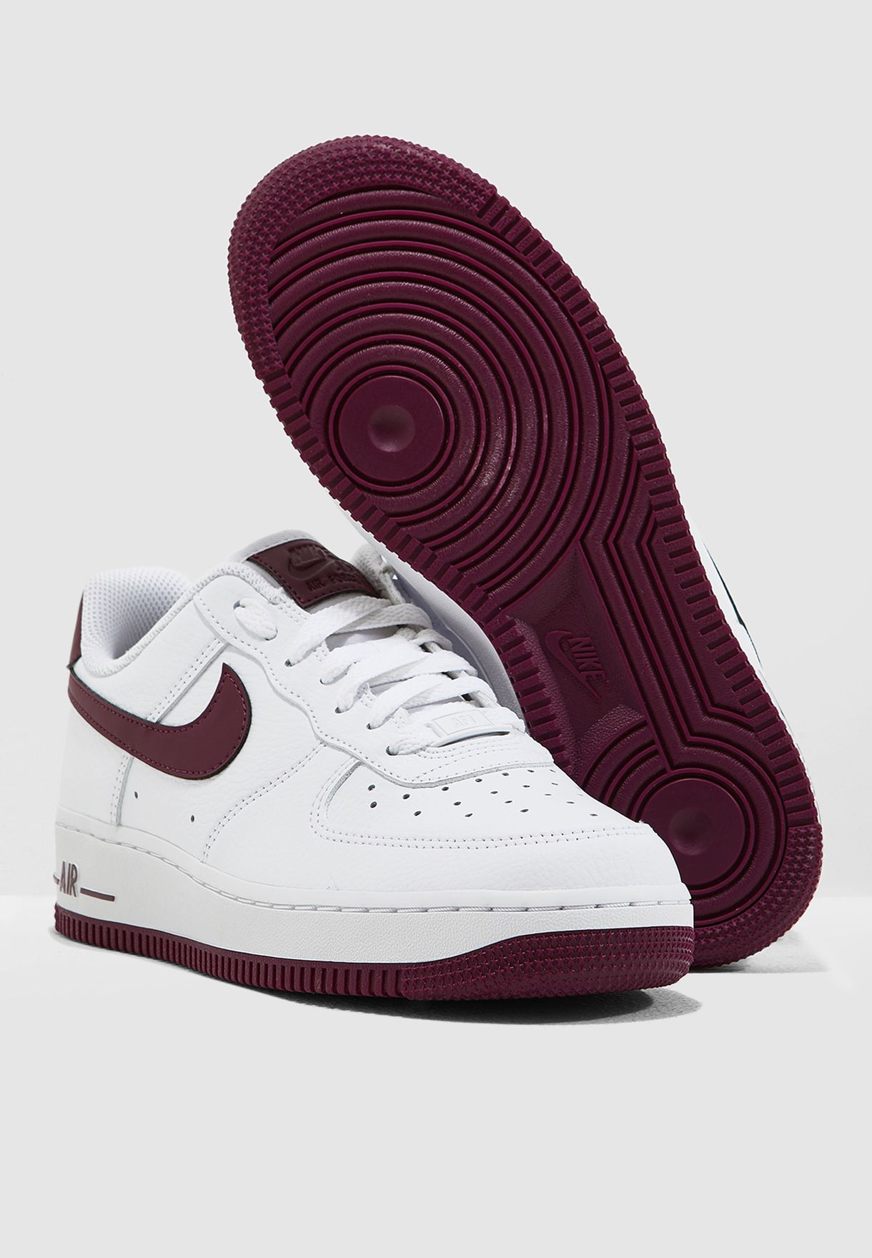 ed7192dff Shop Nike white Air Force 1 '07 AH0287-105 for Women in UAE ...