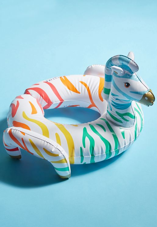 Zebra Lilo Kids Pool Float